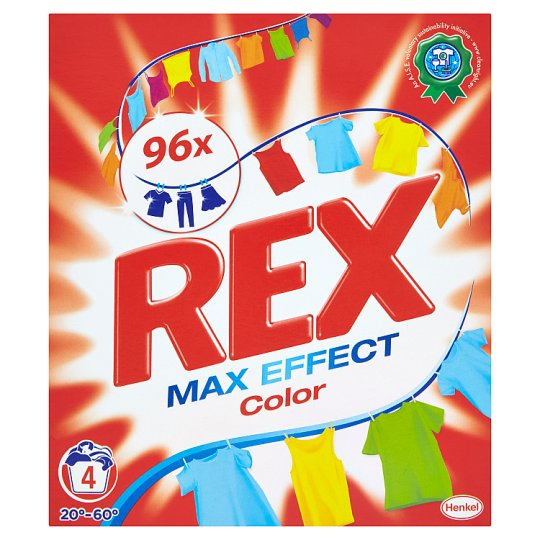 Rex Max Effect Color 4 Washes 280g