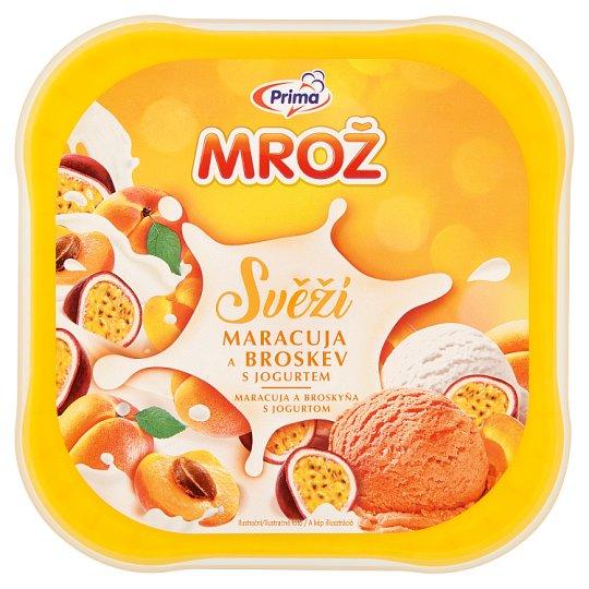 Prima Mrož Svěží maracuja a broskev s jogurtem 850ml