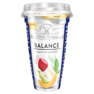 Hollandia Balance Yogurt Smoothie Banana, Pear, Apple, Spinach 230g