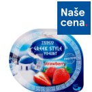 Tesco Greek Style Yogurt Strawberry 140g