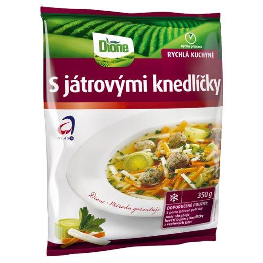 Dione Zeleninová směs s játrovými knedlíčky 350g