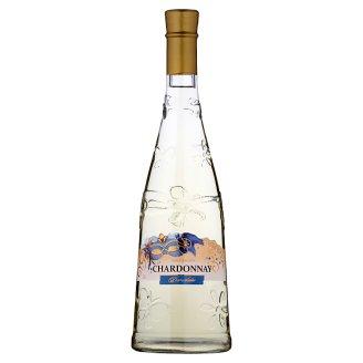 Chardonnay odrůdové bílé polosladké víno 0,75l