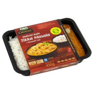 Heli Orient Indian Chicken Tikka Masala with Basmati Rice 430g
