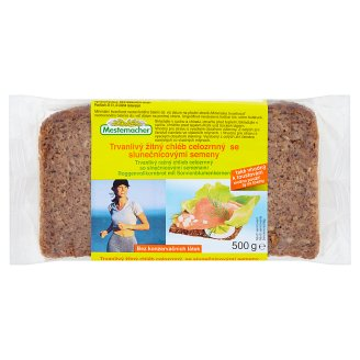 Mestemacher Durable Wholemeal Bread with Sunflower Seeds 500g