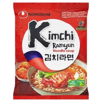 Nongshim Kimchi Ramyum Instantní nudlová polévka s příchutí pálivá 120g