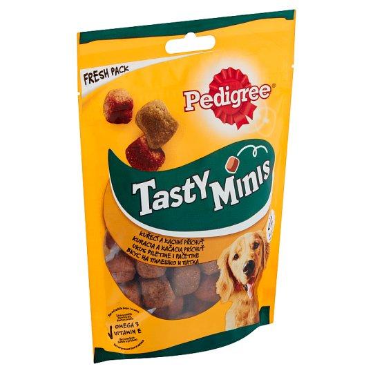 Pedigree Tasty Bites Doplňkové krmivo pro dospělé psy s kuřecím 130g