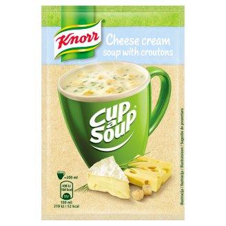 Knorr Cup a Soup Sýrová instantní polévka s krutony 22g