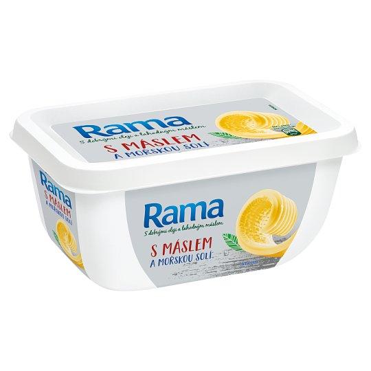 Rama S máslem a mořskou solí 400g