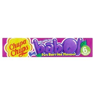 Chupa Chups Big Babol žvýkačka s příchutí lesních plodů 6 ks 27,6g