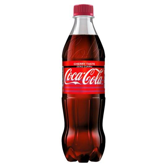 Coca-Cola Zero Cherry 500ml