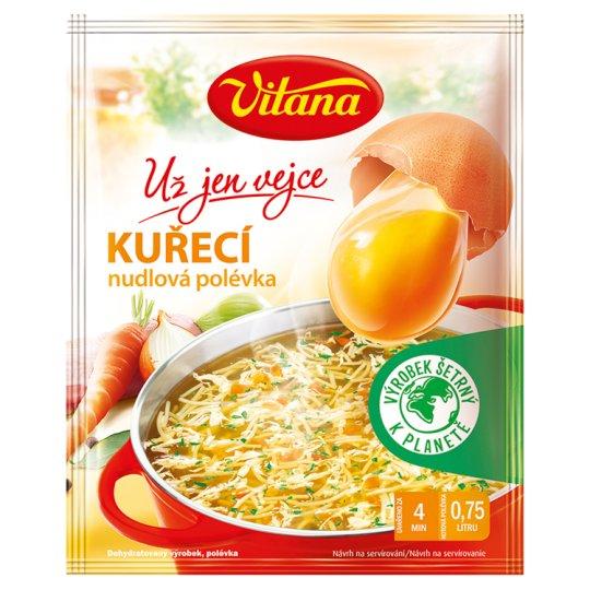 Vitana Už jen vejce Chicken Soup with Noodles 38g