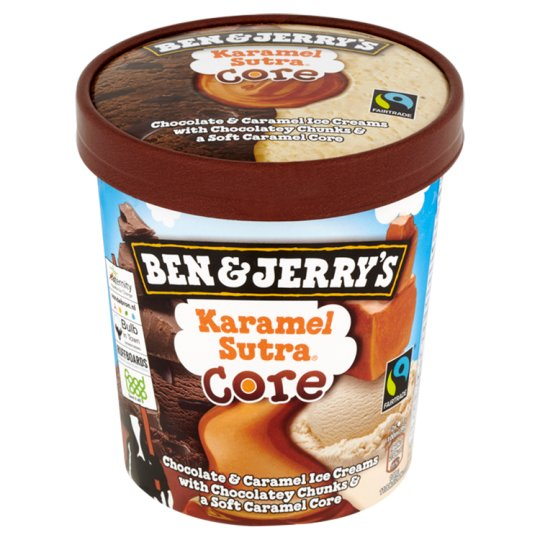 Ben & Jerry's Karamel Sutra Core Ice Cream 500ml