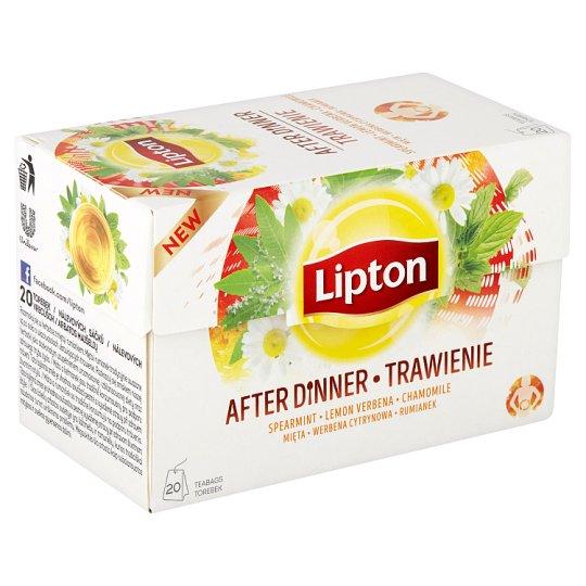 Lipton Bylinný aromatizovaný čaj After dinner 20 sáčků