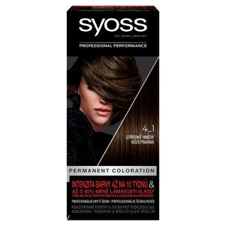 Syoss barva na vlasy Středně Hnědý 4-1
