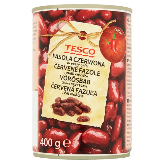 Tesco Red Beans in Chilli Sauce 400g