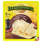 Leerdammer Cheese Slices with Black Pepper 120g