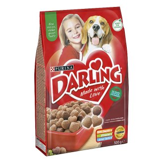 DARLING Grains for Dogs with Beef and Added Selected Vegetable 500g