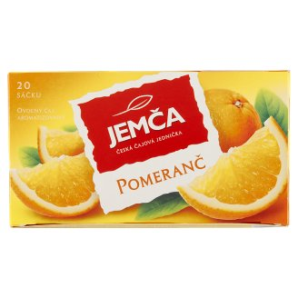 Jemča Orange Fruit Tea Teabags 20 x 2g
