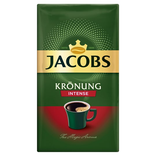 Jacobs Krönung Intense Coffee Roasted Ground 250g