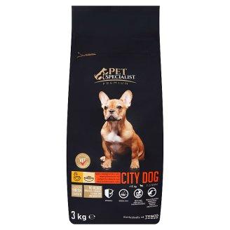 Tesco Pet Specialist City Dog bohaté na čerstvé kuřecí s rýží 3kg