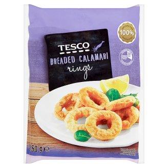 Tesco Calamari Rings Coated in Breadcrumbs 250g