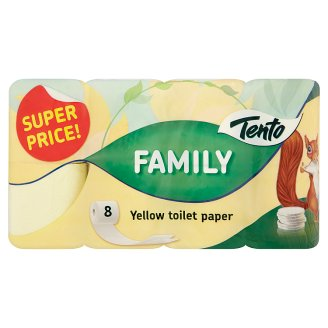 The Family Toilet Paper 8 Rolls