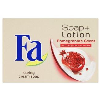 Fa Soap + Lotion Pomegranate krémové mýdlo 90g