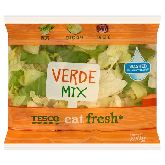 Tesco Eat Fresh Verde Salad Mix 200g
