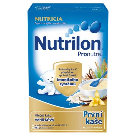 Nutrilon Pronutra první dětská mléčná kaše vanilková 225g