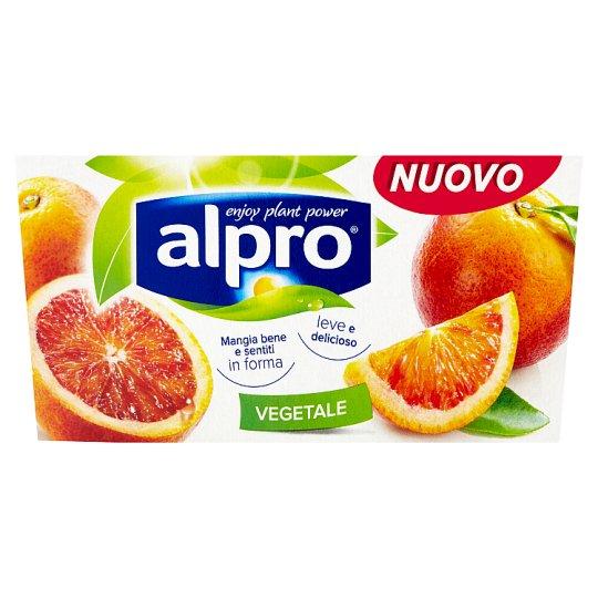 Alpro Fermentovaný sójový výrobek s červeným pomerančem 2 x 125g