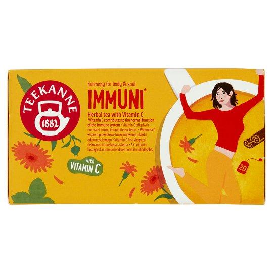 TEEKANNE Harmony for Body & Soul, Immuni, Herbal Tea with Vitamin C, 20 bags, 40g