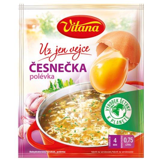 Vitana Už jen vejce Česnečka polévka 22g