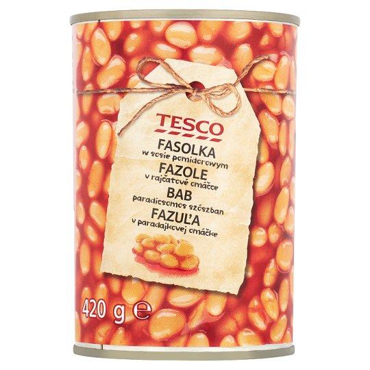 Tesco Fazole v rajčatové omáčce 420g