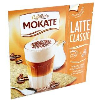 Mokate Caffelleria Latte classic lahodná pěna a instantní káva 22g