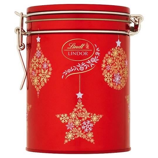 Lindt Lindor Mléčná čokoláda s jemnou tekutou náplní 12 ks 150g