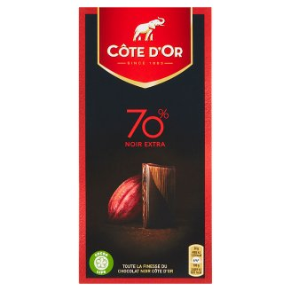Côte d'Or Bitter Chocolate of High Quality 70% 100g