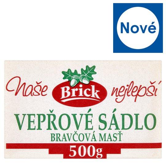 Brick Pork Lard 500g