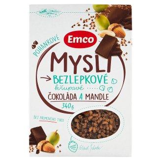 Emco Mysli na Zdraví Pohankové čokoláda a mandle 340g