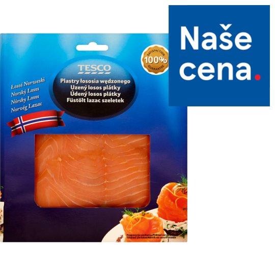 Tesco Smoked Salmon Slices 100g