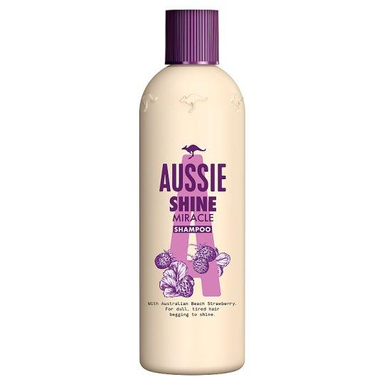 Aussie Miracle Shine Šampon Pro Matné Vlasy Bez Lesku 300ml
