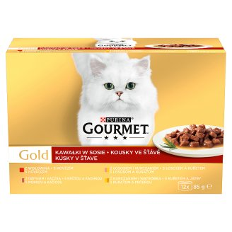 GOURMET Gold Pieces in Sauce Multipack 12 x 85g