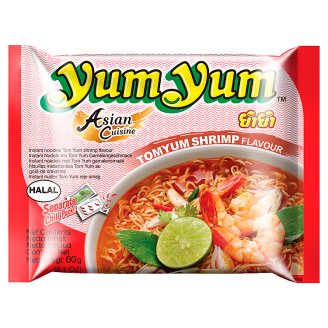 Yum Yum Instant Noodle Soup Flavored with Tom Yum 60g
