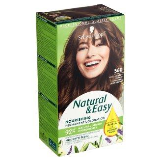 Schwarzkopf Natural & Easy barva na vlasy Světle Hnědý Kašmír 560