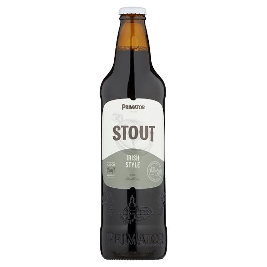 Primátor Stout pivo svrchně kvašený tmavý ležák 0,5l
