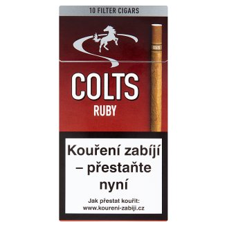 Colts Ruby doutníčky 10 ks