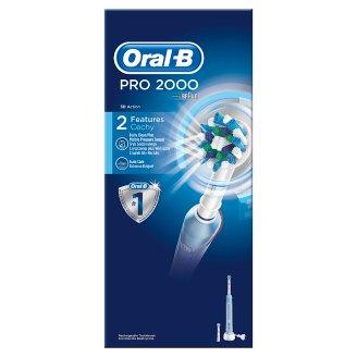 Oral-B PRO 2000 CrossAction Elektrický Zubní Kartáček Od Brauna