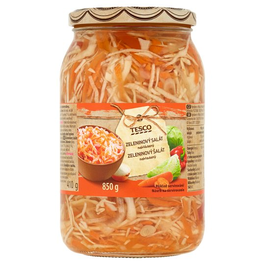 Tesco Vegetable Salad Pickled 850g