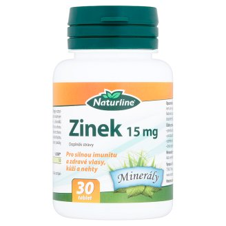 Naturline Zinek 15 mg 30 tablet