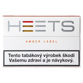Heets Amber Label Refills to IQOS 20 pcs