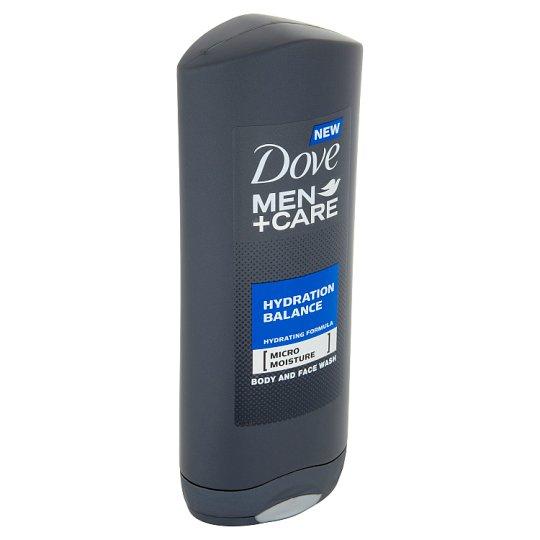 Dove Men+Care Hydration Balance sprchový gel pro muže na tělo a tvář 400ml